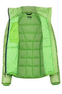 Women's Hype Down Jacket, Vibrant Green, medium
