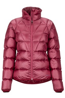Women's Hype Down Jacket, Claret, medium