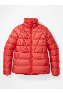Women's Hype Down Jacket, Victory Red, medium