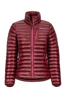 Women's Avant Featherless Jacket, Claret, medium