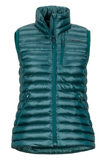 Women's Avant Featherless Vest, Deep Teal, medium
