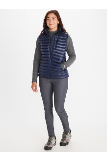 Women's Avant Featherless Vest, Arctic Navy, medium