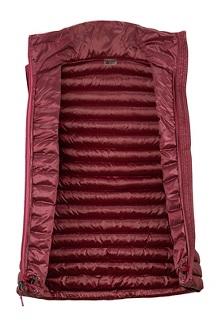 Women's Avant Featherless Vest, Claret, medium