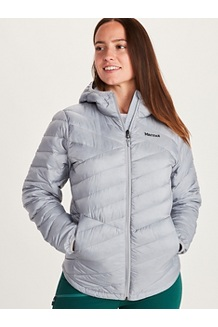 Women's Highlander Hoody, Sleet, medium