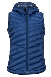 Women's Highlander Hoody Vest, Arctic Navy, medium