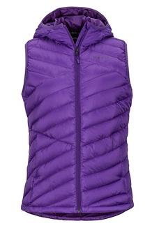 Women's Highlander Hoody Vest, Acai, medium
