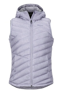 Women's Highlander Hoody Vest, Lavender Aura, medium