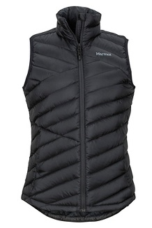 Women's Highlander Vest, Black, medium