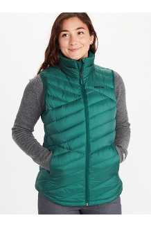 Women's Highlander Vest, Botanical Garden, medium