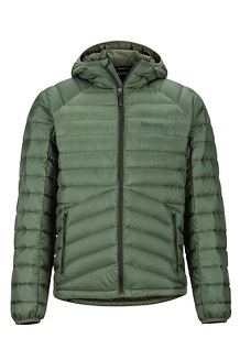 Men's Highlander Down Hoody, Crocodile, medium