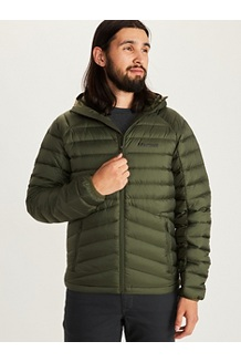 Men's Highlander Down Hoody, Nori, medium