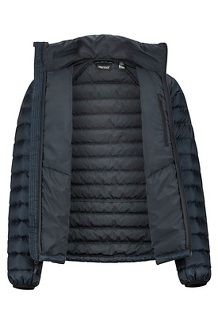 Men's Highlander Down Jacket, Black, medium