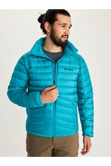 Men's Highlander Down Jacket, Enamel Blue, medium