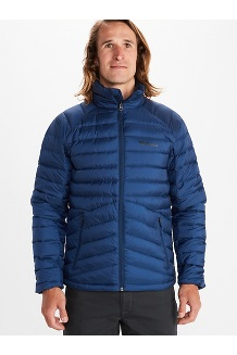 Men's Highlander Down Jacket, Arctic Navy, medium