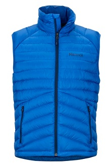 Men's Highlander Down Vest, Surf, medium