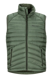 Men's Highlander Down Vest, Crocodile, medium