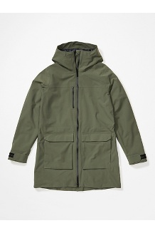Women's Commuter Parka, Crocodile, medium
