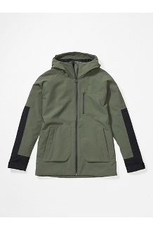 Women's Hudson Jacket, Crocodile/Black, medium