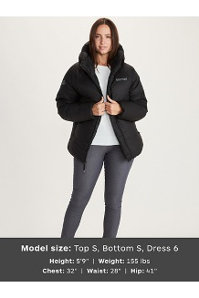 Women's Mt. Tyndall Hoody, Black, medium