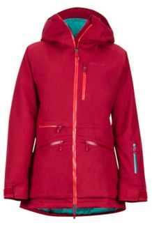 Women's Schussing Featherless Jacket, Sienna Red, medium