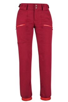 Women's Schussing Featherless Pants, Sienna Red, medium