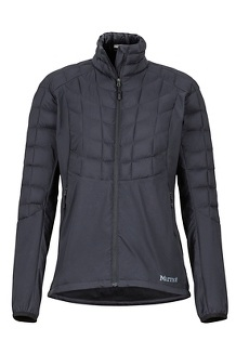 Women's Featherless Hybrid Jacket, Black, medium