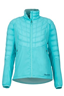 Women's Featherless Hybrid Jacket, Skyrise, medium