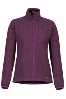 Women's Featherless Hybrid Jacket, Dark Purple, medium