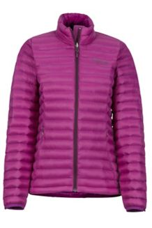 Women's Solus Featherless Jacket, Grape, medium