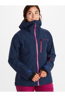 Women's Bariloche Jacket, Arctic Navy, medium