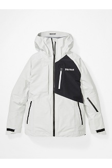 Women's Bariloche Jacket, White/Black, medium