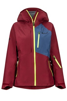 Women's Bariloche Jacket, Claret/Storm, medium
