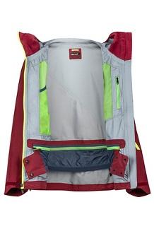 Women's Bariloche Jacket, Claret/Storm, medium