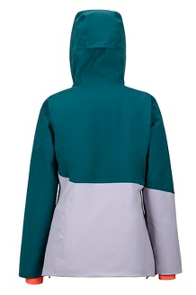 Women's Pace Jacket, Deep Teal/Lavender Aura, medium