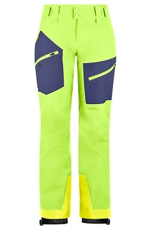 Women's JM Pro Pants, Vibrant Green/Arctic Navy, medium