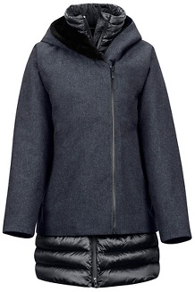 Women's Victoria Jacket, Black Heather/Black, medium