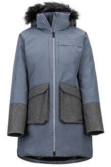 Women's Jules Jacket, Steel Onyx/Grey Heather, medium