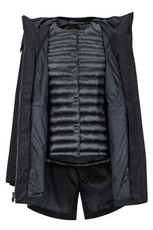 Women's Piera Featherless Component 3-in-1 Jacket, Black, medium
