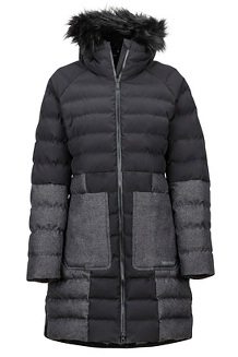 Women's Margaret Featherless Jacket, Black, medium