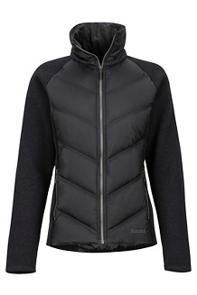 Women's Ithaca Hybrid Jacket, Black, medium
