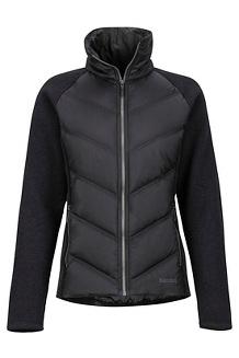 Women's Ithaca Hybrid Jacket, Black, medium