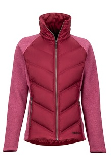 Women's Ithaca Hybrid Jacket, Dry Rose/Claret, medium