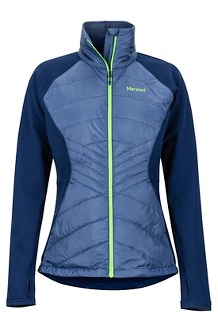 Women's Variant Hybrid Jacket, Storm/Arctic Navy, medium