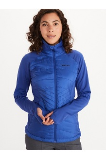 Women's Variant Hybrid Jacket, Royal Night, medium