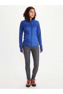 Women's Variant Hybrid Jacket, Wild Rose/Arctic Navy, medium
