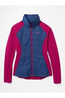 Women's Variant Hybrid Jacket, Wild Rose/Arctic Navy, medium
