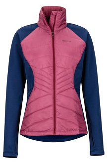 Women's Variant Hybrid Jacket, Dry Rose/Arctic Navy, medium