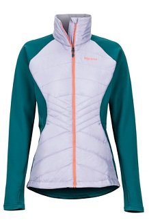 Women's Variant Hybrid Jacket, Lavender Aura/Deep Teal, medium