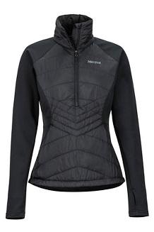 Women's Variant Hybrid 1/2-Zip Jacket, Black, medium