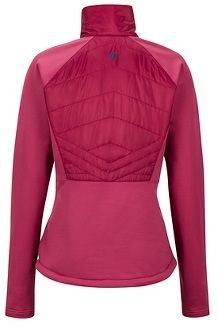 Women's Variant Hybrid 1/2-Zip Jacket, Claret/Dry Rose, medium